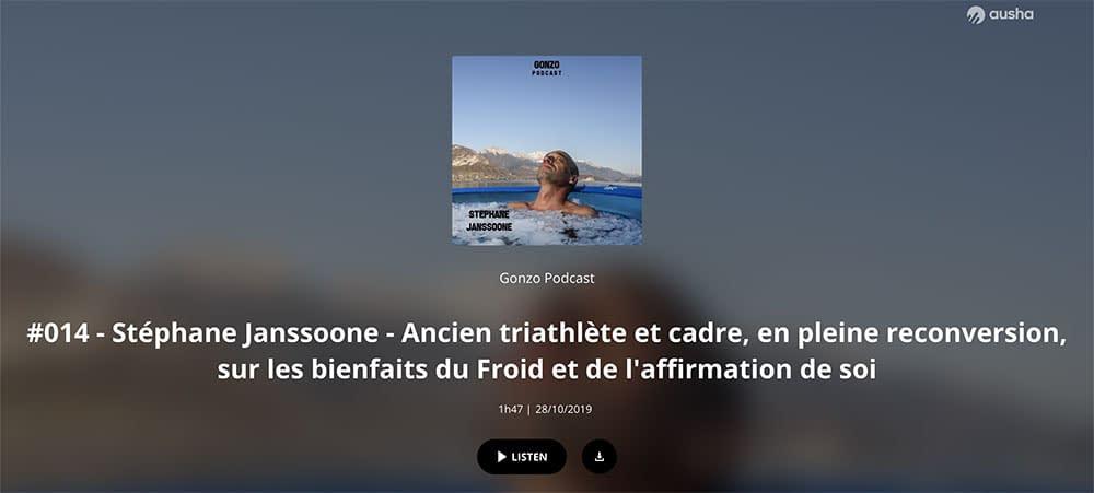 Gonzo Podcast: #014 – Stéphane Janssoone